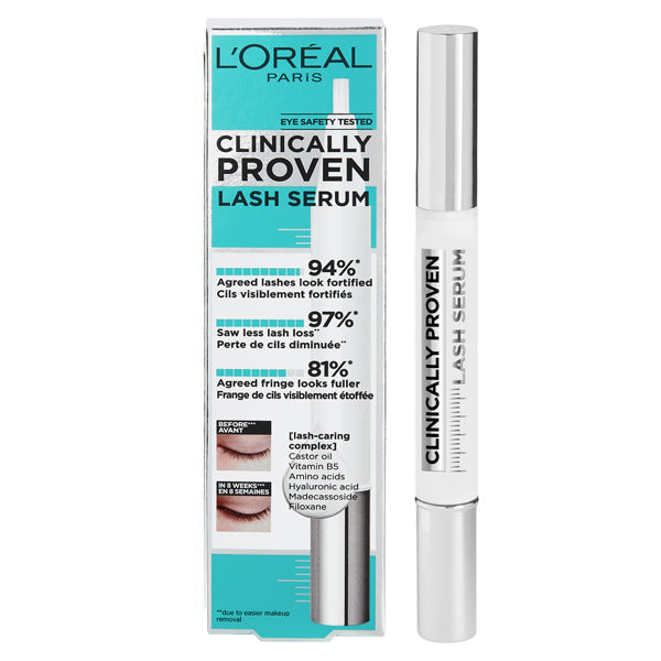 Serum voor Wimpers en Wenkbrauwen Clinically Proven L'Oreal Make Up