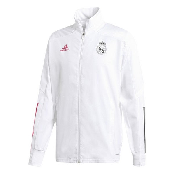 Heren Sportjas Real Madrid Adidas PRE JKT Wit