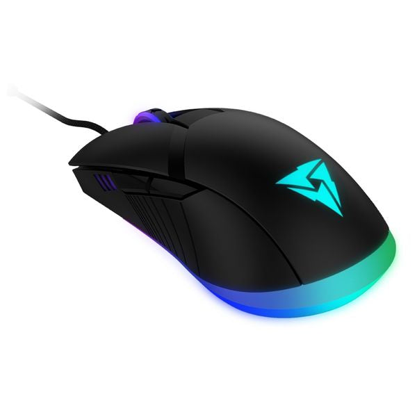 Gaming muis met led Aerocool AM7HEX 12000 DPI Blauw