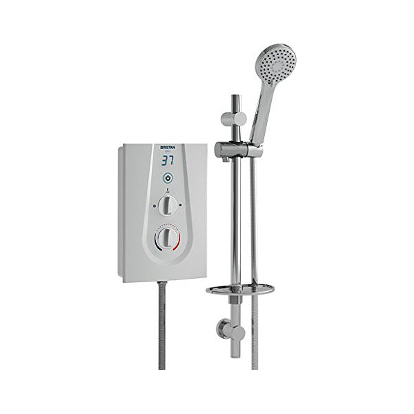 Electric Shower Bristan GLE385 W 8,5 kW Wit (Refurbished A+)