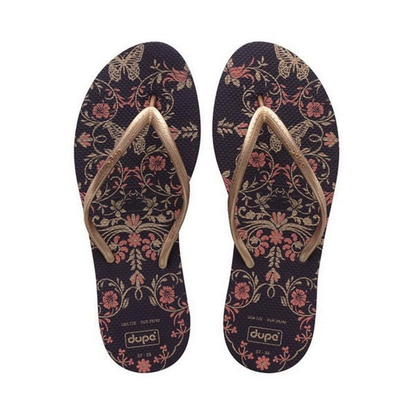 Dames Slippers Dupé Belle Paars