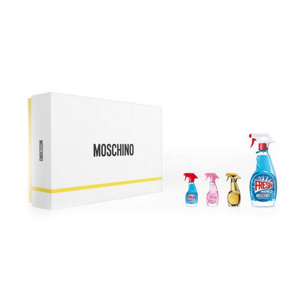 Parfumset voor Dames Fresh Couture Moschino (4 pcs)