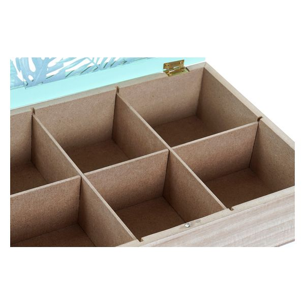 Box for Infusions Dekodonia Hout Jungle (30 x 20 x 7 cm)