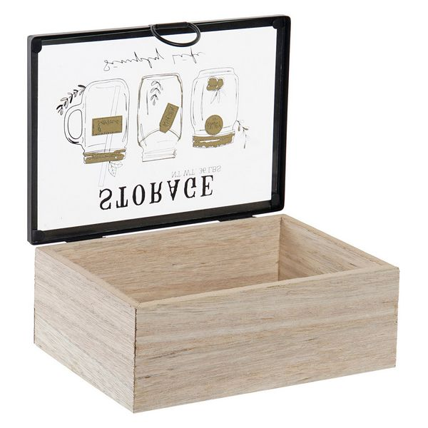Box for Infusions Dekodonia Storage Hout MDF (2 pcs)