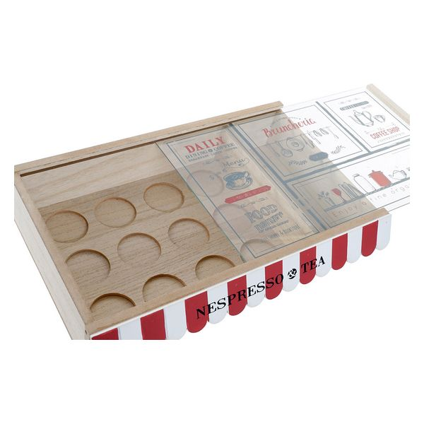 Box for Infusions Dekodonia Vintage Hout MDF (30 x 19 x 6 cm)