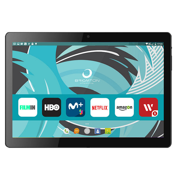 "Tablet BRIGMTON BTPC-1022 10,1"" HD IPS Quad Core 1.3 GHz 16 GB 2 GB RAM MICRO SD DUAL SIM 3G 4500 mAh Zwart"