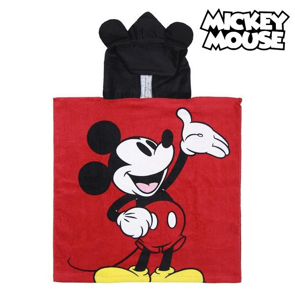 Poncho-Handdoek met Capuchon Mickey Mouse 74133
