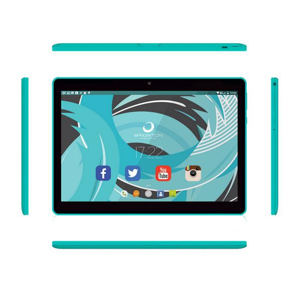 "Tablet BRIGMTON BTPC-1019QC-A 10,1"" Quad Core 1 GB RAM 16 GB Blauw"