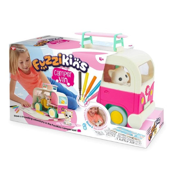 Playset Fuzzikins Campervan (Refurbished A+)