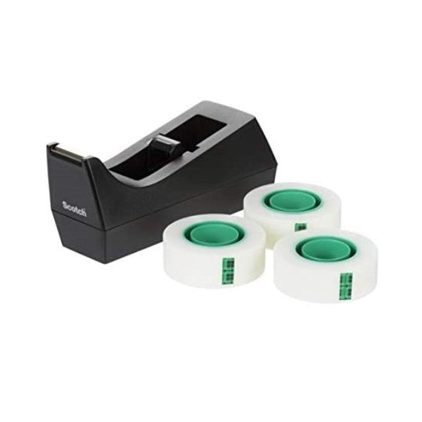 Plakbanddispenser Antislip Zwart (Refurbished A+)