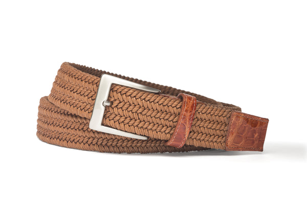 Stretch Belt - Cognac