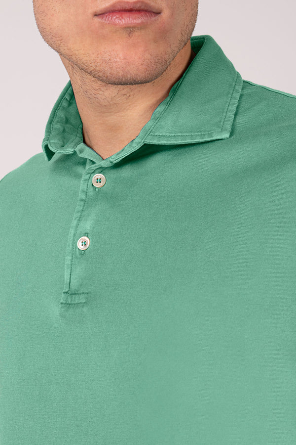 Organic Cotton Polo - Green