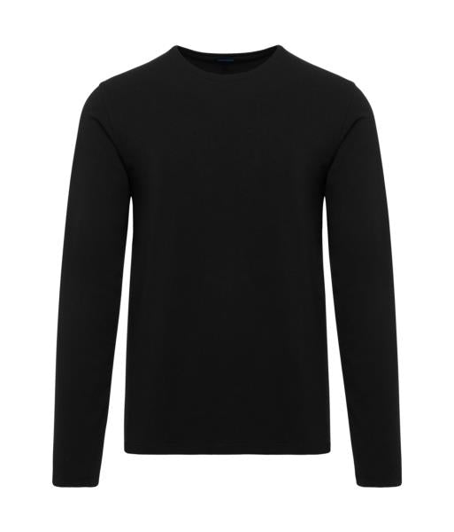 Black LS Crew Neck