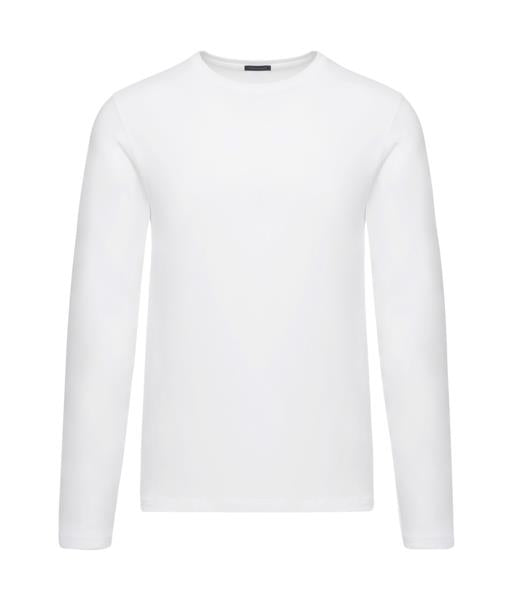 White LS Crew Neck