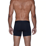 Boxer Brief w/Fly - Black