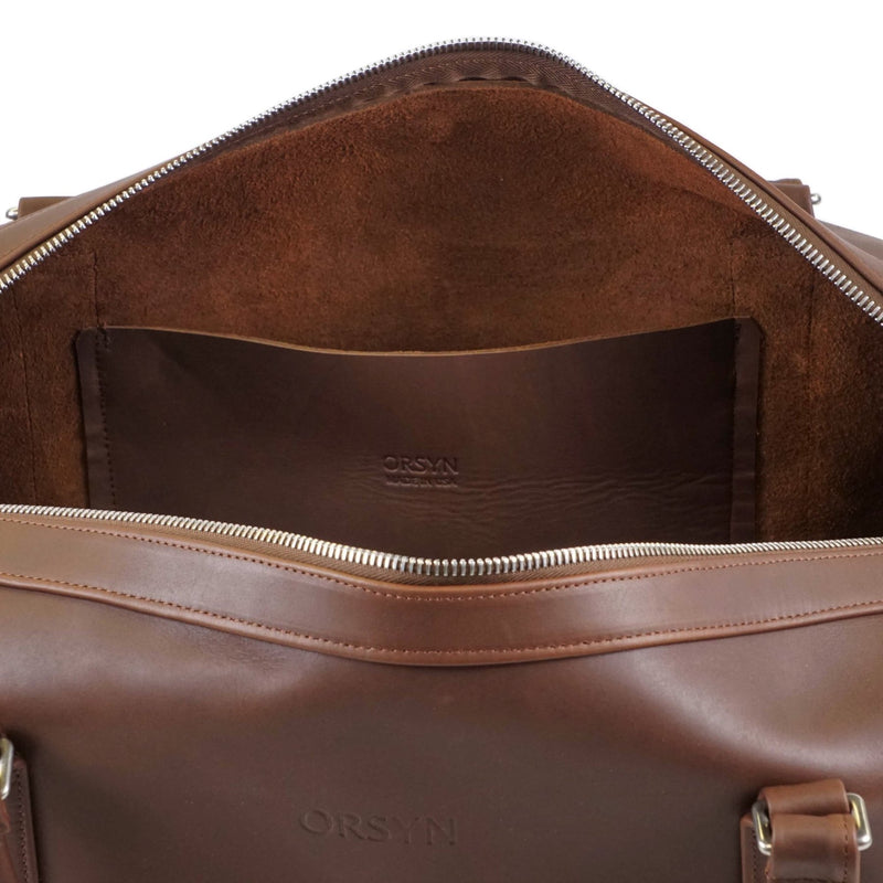 Del Mar Duffel - Oil Tan Chocolate
