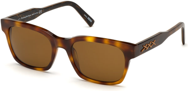 Havana Triple Xxx Sunglasses