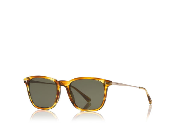 Arnaud Sunglasses - Shiny Light Brown