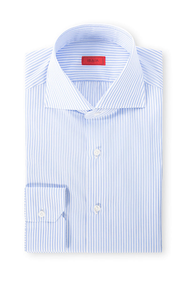 Narrow Striped Dress Shirt