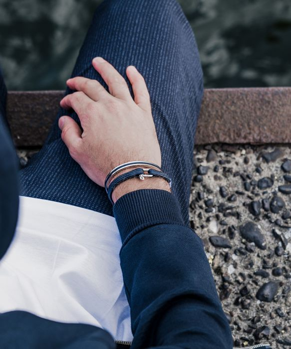 Navarch 6 Bracelet - Navy