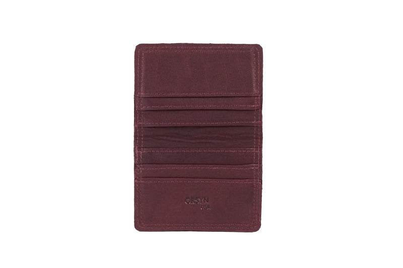 Safari Wallet - Burgundy