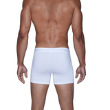 Boxer Brief w/Fly - White