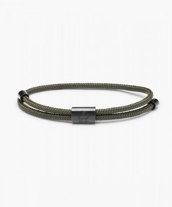 Little Lewis Bracelet - Army/Black