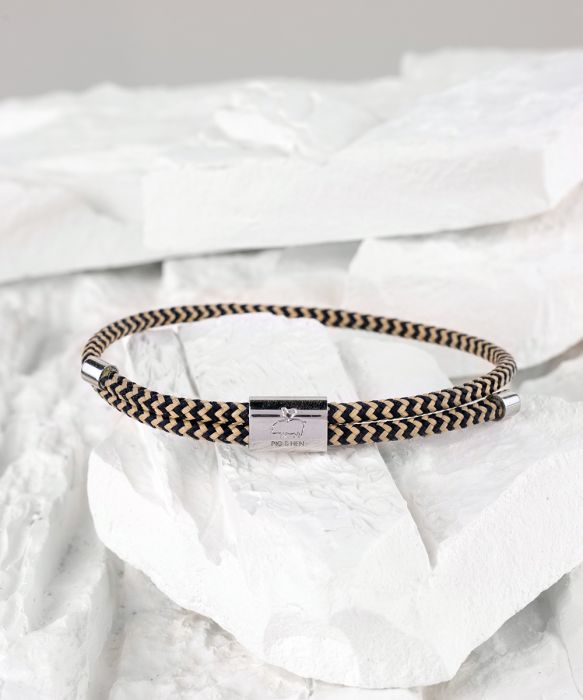 Little Lewis Bracelet - Navy/Sand