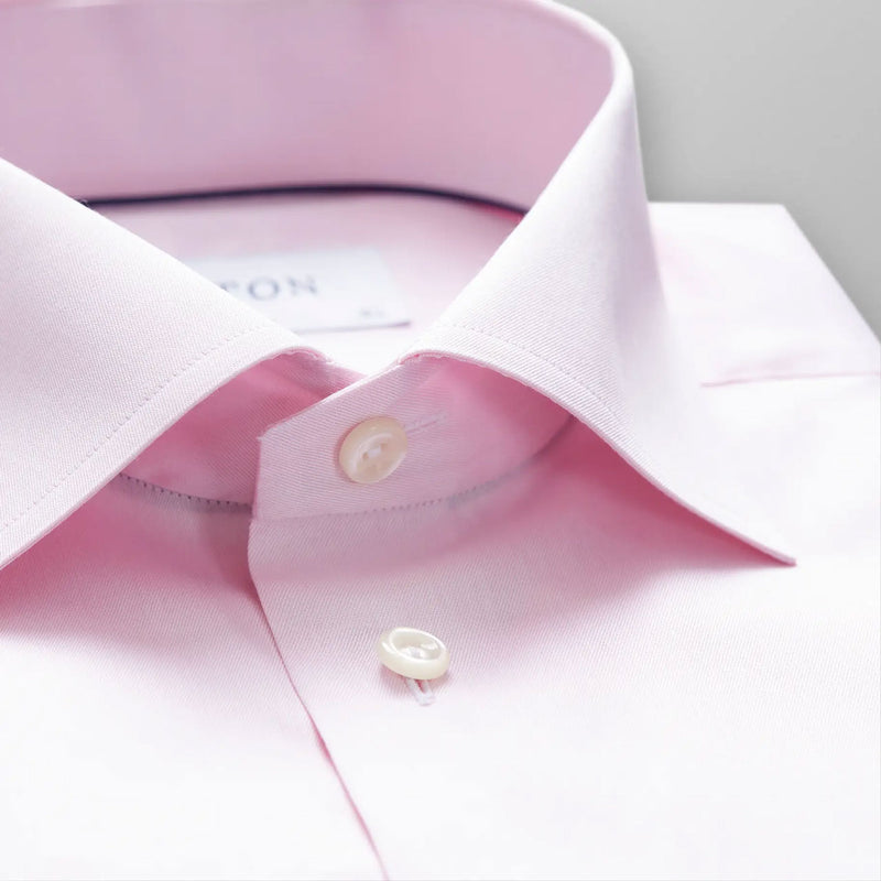 Signature twill pink shirt