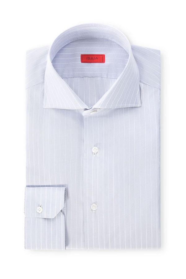 Wide Striped Dress Shirt
