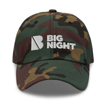 Load image into Gallery viewer, Big Night Camo - Dad hat