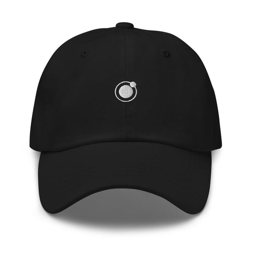 Syence dad hat - black