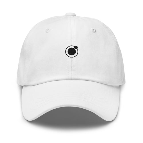 Syence dad hat - white