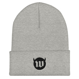 Wicked Wings Cuffed Beanie