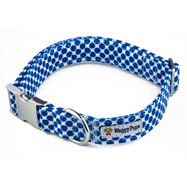 Berry Polka Dot Dog Collar - Waggy Pups