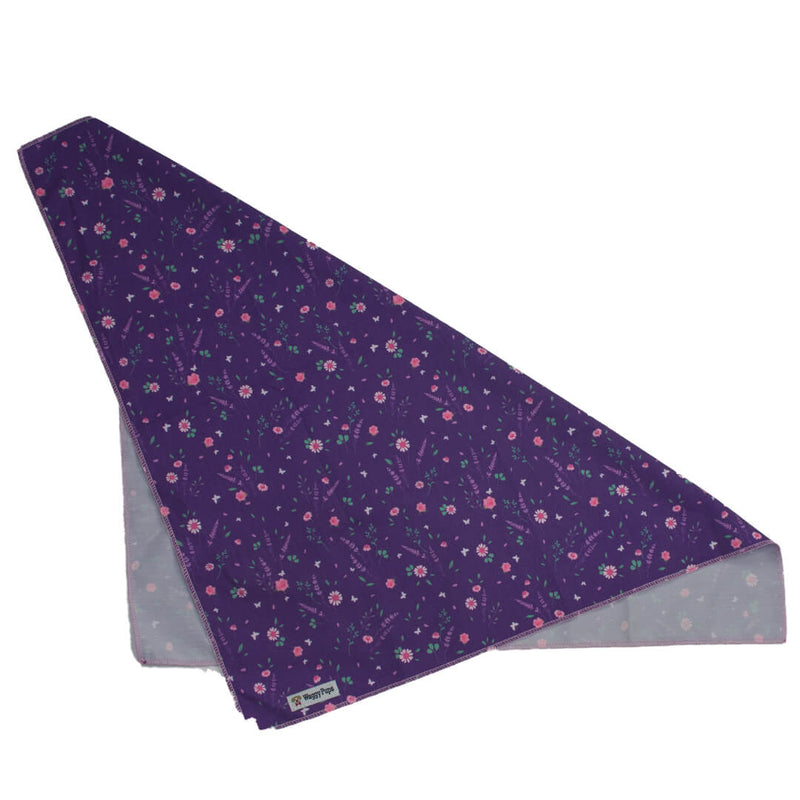 Butterfly Violet Dog Bandana - Waggy Pups