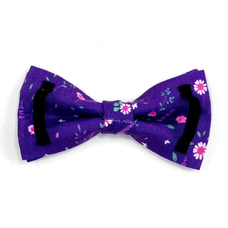 Butterfly Violet Dog Bow Tie - Waggy Pups