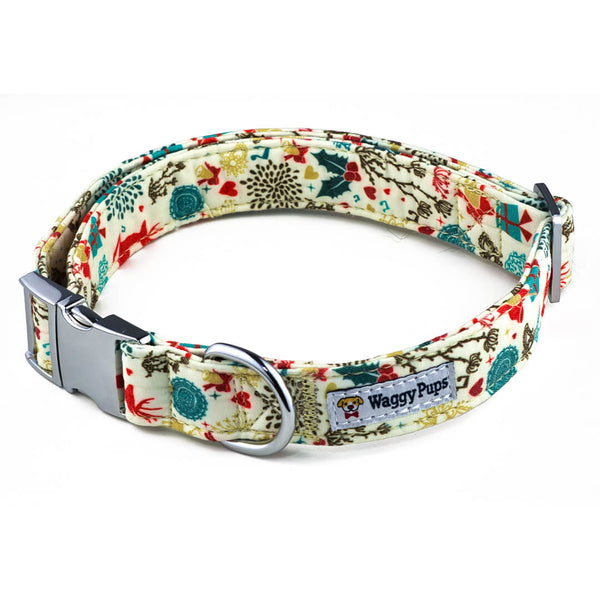 Classic Holidays Dog Collar - Waggy Pups