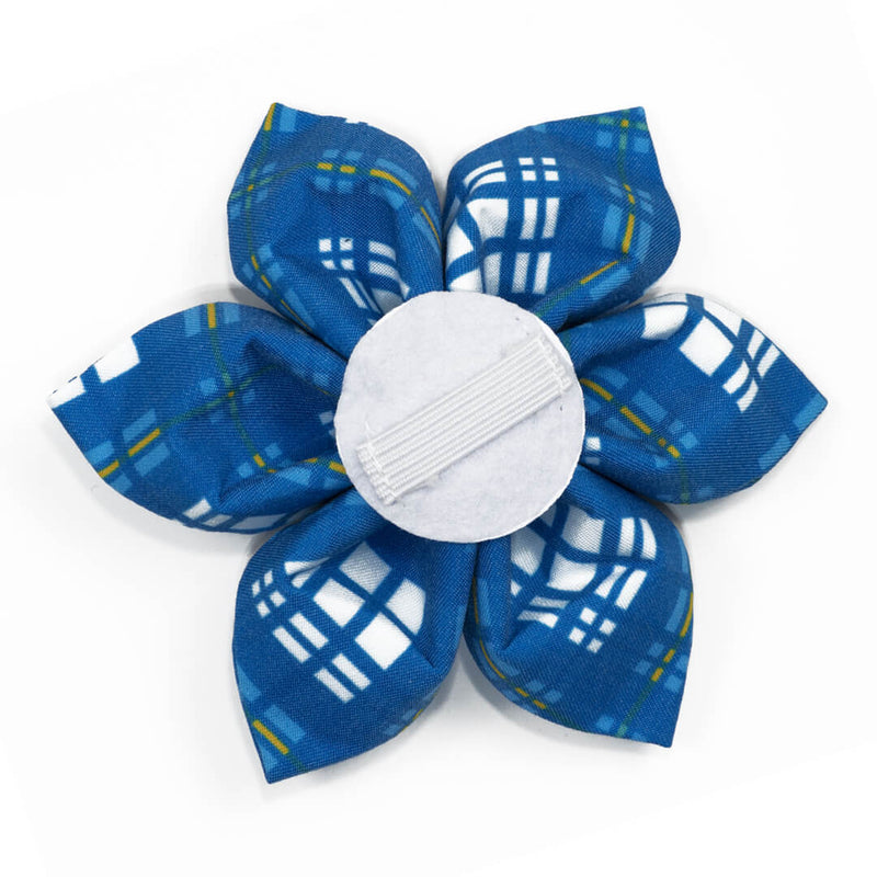 Newport Plaid Dog Flower - Waggy Pups