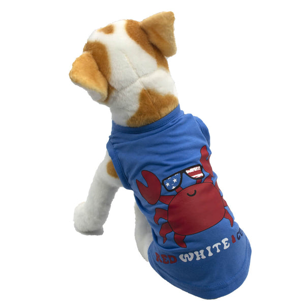 Red White N Cute Dog Tank Top