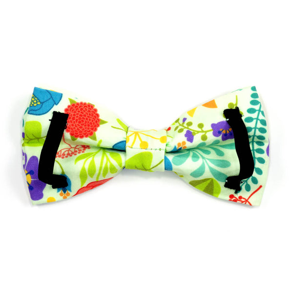 Vibrant Bouquet Dog Bow Tie - Waggy Pups