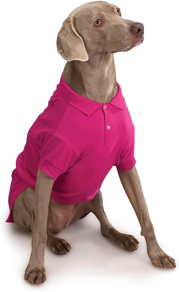 Raspberry Dog Polo Shirt