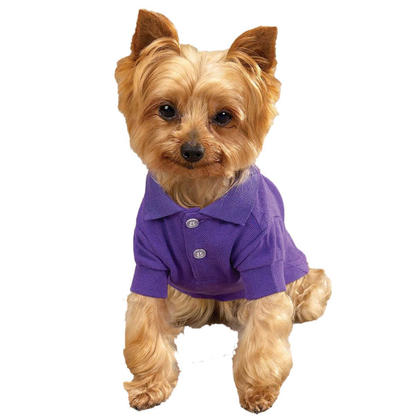 Purple Dog Polo Shirt