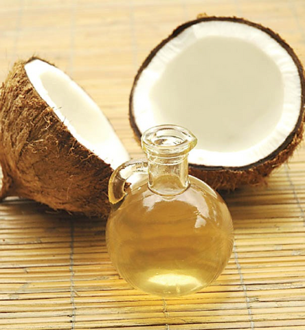 coconut oil is a great source of fat for athletes