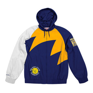 COLLECTOR Veste imperméable GOLDON STADE WARIORS Mitchell ness
