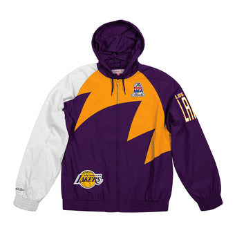COLLECTOR Veste imperméable LAKERS Mitchell ness