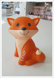 "La Veilleuse Large Renard orange ""bb-collections"""