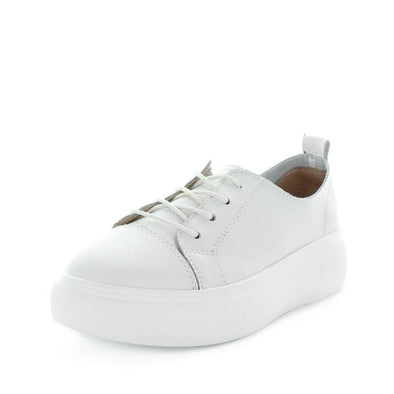 Caddie by Just Bee - Just Bee Comfort - platform style sneakers with lace-up closure, padded extra comfort footbed and lather materials - womens shoes  womens sneakers - womens leather shoes - leather sneakers - comfort shoes (4867354755151)