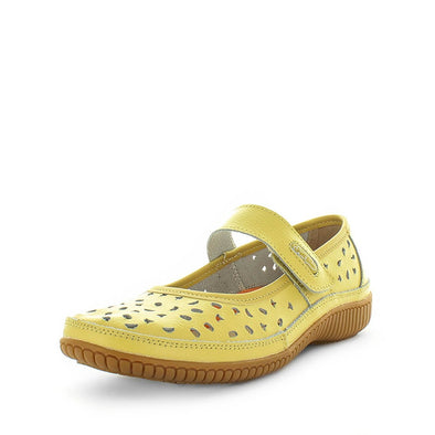 womens flats, womens shoes, womens comfort mary janes, womens comfort shoes, yellow shoes, just bee cale (4468553515087)