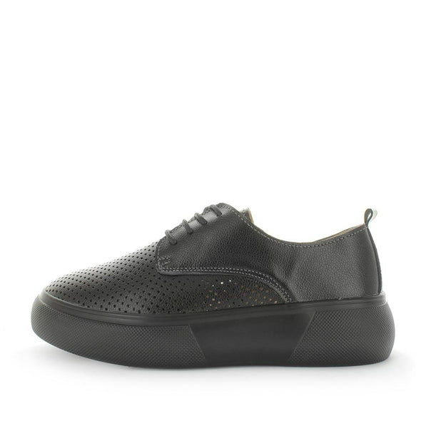 Cestie by Just Bee comfort - just bee - comfort womens shoes - womens sneakers - women's leather shoes - womens sneakers - flatforms - flatform style leather womens shoes with lace-up closure and padded sock (6540744130639)